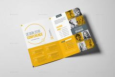 Conference Bifold Brochure by Snowboy | GraphicRiver
