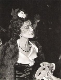 Circa 1939 - Coco Chanel