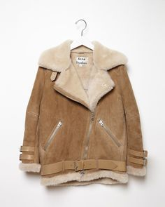Acne Studios / Velocite Oversized Shearling Jacket #fw14