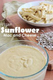 This Vegan Sunflower Mac n Cheese Recipe surprised me with its savory and authentic cheesy flavor. It is an easy, healthy, and delicious family favorite. Vegan Cheese Recipes, Vegan Mac And Cheese, Vegan Recipes Easy, Gourmet Recipes, Vegetarian Recipes, Vegan Ideas, Sunflower Seed Recipes, Sunflower Seed Cheese, Sunflower Seeds