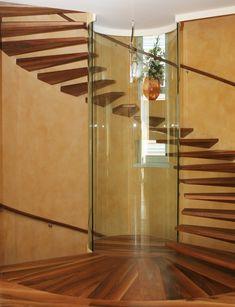 Christian Siller'in iç mekan merdiven tasarımı