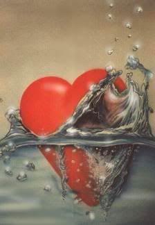 Hearts :: Drowning Heart image by mistytigergirl - Photobucket