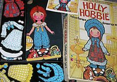 Childhood Memory Keeper: Retro Pop Culture from the 1960s, 1970s and 1980s: Raggedy Ann & Holly Hobbie Colorforms
