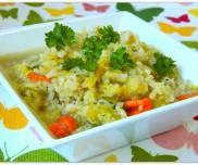 Zupa ryżanka - PrzyslijPrzepis.pl Fried Rice, Fries, Ethnic Recipes, Food, Essen, Meals, Nasi Goreng, Yemek, Stir Fry Rice