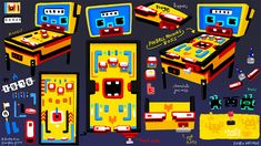 Leonie Yue's Art Adventuuures: Inktober + Shooty Skies Retro Arcade Anarchy & Nightmare Before Christmas Doodles [OCT2016]