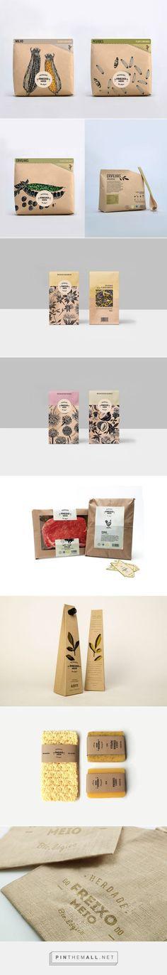 农产品土特产电商微商包装设计参考12(每天学点16.04.23 With love, BakSaks.com