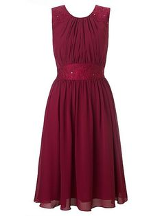 Alia chiffon short dress