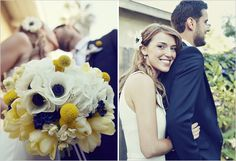gorgeous vow renewal - look at these colors!  They're the perfect combination of our weddings!