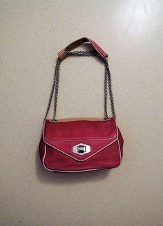 À vendre sur #vintedfrance ! http://www.vinted.fr/sacs-femmes/sac-a-main/22957750-sac-en-cuir-rose-framboise