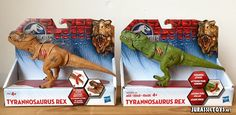Jurassic World Basher T-Rex variations