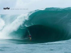 Alex Gray, Teahupoo. Photo: Todd Glaser