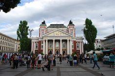 National Theater Ivan Vazov Sofia, Bulgaria