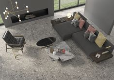 tendencias en cerámicos 2021 Terrazo, Couch, Furniture, Home Decor, Decorate Walls, House Decorations, Pinterest Board, Color Tones, Settee
