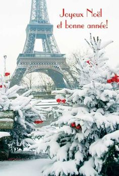 Winter in Paris! Paris In Winter, France - Amazing Places In Winter: You Must Visit Them In Your Lifetime Paris Winter, Christmas In Paris, French Christmas, Winter Snow, Christmas Trees, Christmas Cards, Merry Christmas, Paris Photography, Winter Photography