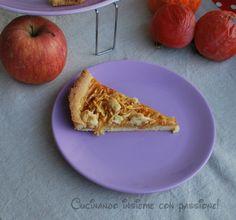 Crostata  con caki e mele molto semplice , molto golosa. Continue reading →