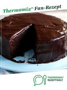World's best chocolate / Nutella cake from BeautyThermi. A Thermomix recipe from the category baking sweet on www.de the Thermomix Community. The post Worlds best chocolate / Nutella cake appeared first on Dessert Park. Chocolate Thermomix, Nutella Chocolate Cake, Best Chocolate, Chocolate Recipes, Decadent Chocolate, Easy Vanilla Cake Recipe, Easy Cake Recipes, Baking Recipes, Cookie Recipes