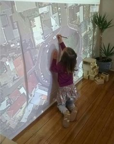 Could do similar with ICT room projector? - Projector - Ideas of Projector - Could do similar with ICT room projector? Reggio Emilia Classroom, Preschool Classroom, Teaching Kindergarten, Future Classroom, Inquiry Based Learning, Early Learning, Learning Spaces, Learning Environments, Overhead Projector
