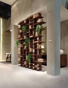 36 Trendy Ideas For Wall Partition Design Space Dividers Division Wall Partition Design, Living Room Partition, Divider Design, Partition Ideas, Divider Ideas, Wood Partition, Screen Design, Design Simples, Diy Room Divider