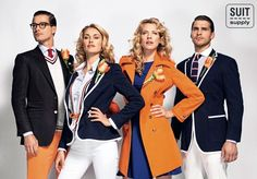 Netherlands' Olympic Opening Ceremony gear. Makes the US's stuff look like frat boys.