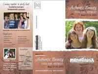 Authentic Beauty @ Monadnock Bible Conference Summer Youth Camp May 17-19, 2013