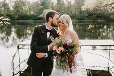 Fall Burgundy Cascading Bouquet Cascading Bouquets, Cascade Bouquet, Bridal Bouquets, Burgundy And Blush Wedding, Wedding Flowers, Wedding Dresses, Wedding Cakes, Weddings, Fall