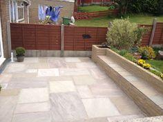 garden+indian+patios | Indian Stone Patio in Brierfield