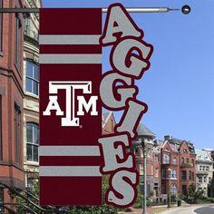 Texas A Aggies x Maroon-Gray Cut-Out Applique Banner Flag Texas A&m Baseball, Ncaa Softball, Baseball Gear, Baseball Party, Baseball Shop, Champion Gear, Royal Icing Transfers, M Craft, Cute Banners