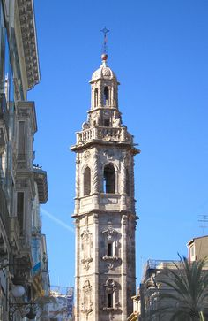 València santa caterina - San Francisco Ferry, Building, Travel, Temple, Towers, Castles, Cities, Valencia Spain, Cathedrals
