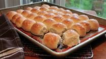 These rolls are JUST like the ones the cafeteria ladies make in the school lunch rooms! They are super easy and everyone will want the recipe.