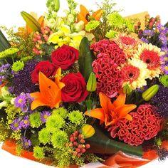 Autumn Flowers -  Renaissance Luxury Bouquet www.eden4flowers.co.uk