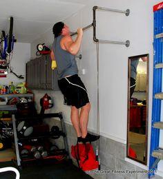 build pull up bar basement  basement workout room diy