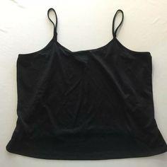 NEW Lane Bryant Plus Size Black Color Essentials Lace Trimmed Camisole Top Cami Tops, Lane Bryant, Cute Clothes For Women, Solid Black, Lace Trim, Camisole Top, Cute Outfits, Plus Size, Ebay