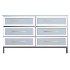 O'verlays Rex Thick Kit for Ikea Tarva 6 Drawer Chest. A classic in home decor that works with any style of decorating. An easy diy furniture makeover.