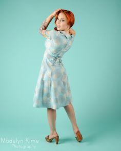 Heartbreaker Beverly Dress in Blue Pom Pom Print My Style, Blue, Vintage, Dresses, Fashion, Vestidos, Moda, Fashion Styles, Vintage Comics