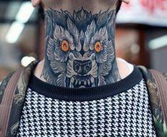 As melhores tatuagens para fazer no pescoço. #tatuagens #tattoo #ink