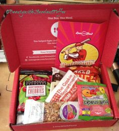 YumEarth Organics Fruit Snacks in the LOVE WITH FOOD box this month.