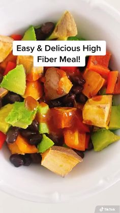 Vegan Meal Plans, Healthy Meal Prep, Easy Healthy Recipes, Whole Food Recipes, Healthy Snacks, Vegan Recipes, Vegan Food List, Healthy Recipe Videos, High Fibre Lunches