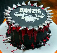 Danzig Cake By Cakes From The Crypt
