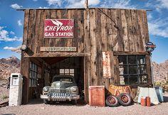 The Chevron Gas Station - Nelson, Nevada