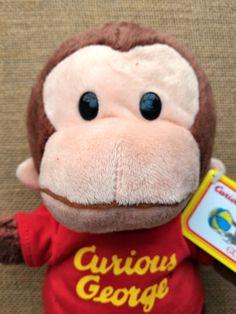 "Gund - Curious George Red Shirt 12"" – Blashful"