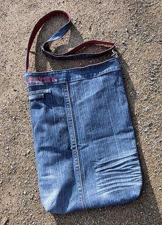 """Große Jeanstasche, Beuteltasche  """"MNG"""" von As4Me auf DaWanda.com"""