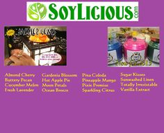 Melter Gems and *new* Candle Gems come in 16 great scents from the Standard Scents plus one extra OMG Scent of the Month!  Shop now at Soylicious.com/bells