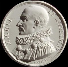Michel de Montaigne French Writer Portrait medal cast Ca. 1840 | eBay
