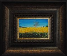 Canola Fields Oil on Canvas  OP 401