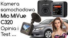 Rejestrator kamera samochodowa Mio MiVue C320 – Opinia i Test