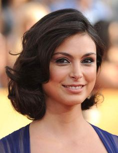 Un carré mi-long comme Morena Baccarin Victoria Justice, Morena Baccarin Deadpool, Anna Hendricks, Most Beautiful, Beautiful Women, Beautiful Smile, Foto Pose, Cool Eyes, Hollywood Actresses