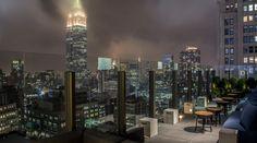 The Skylark Lounge, NYC Bar, Lounge, Rooftop, Midtown, Manhattan, Skyline, Empire State Building, New York