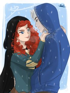 Merida: So your ok with this? Jack: Who said I wasn't? Credits to the owner