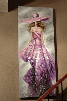 schilderij 60 x 150 cm.  https://www.facebook.com/pages/Idhuna-Living/533703619976004?ref=hl