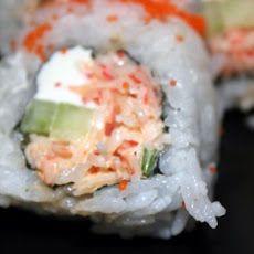 Cream Cheese and Crab Sushi Rolls Recipe